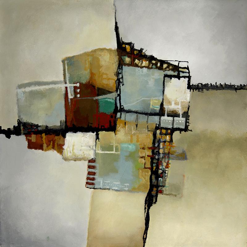 #129 - 20 x 20 acrylic/canvas