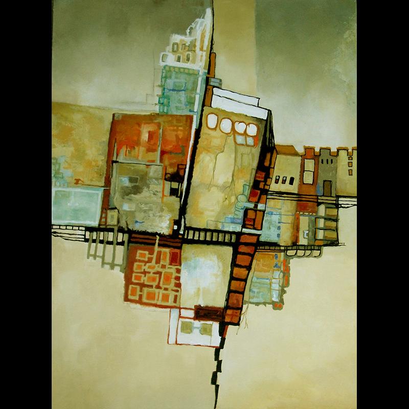#133 - 40 x 30 acrylic/canvas