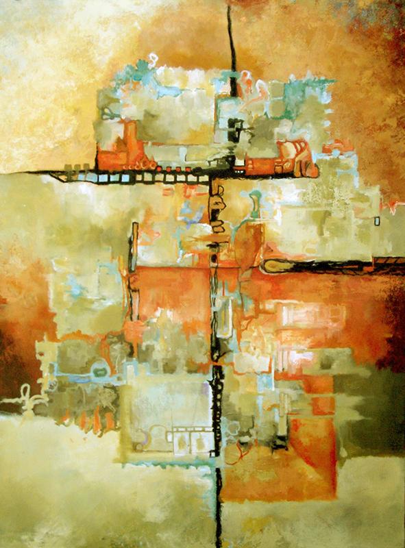 #137 40 x 30 acrylic/canvas