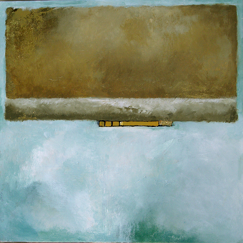 #143 20 x 20 acrylic/canvas color field paintings