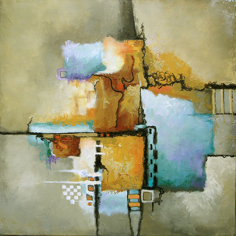 #147 20 x 20 acrylic/canvas
