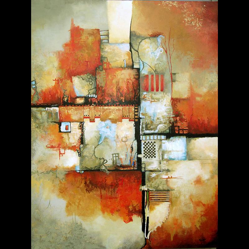 #150 48 x 36 acrylic/canvas