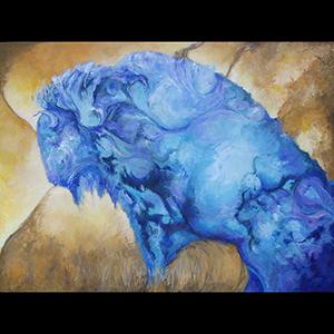 #155 30 x 40 acrylic/canvas