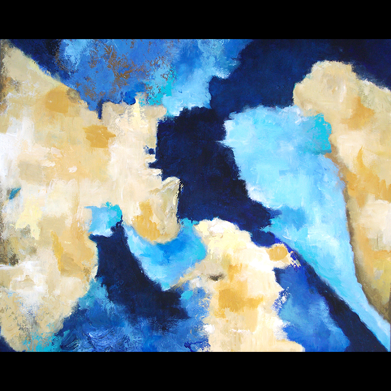 #156 24 x 30 acrylic/canvas