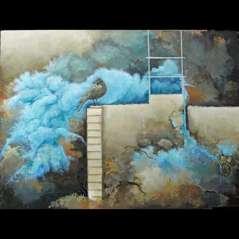 #157 36 x 24 acrylic on canvas