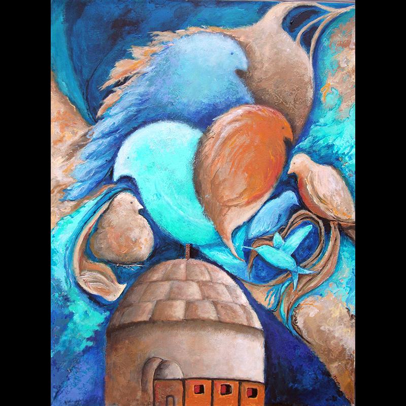 #158 30 x 24 acrylic on canvas