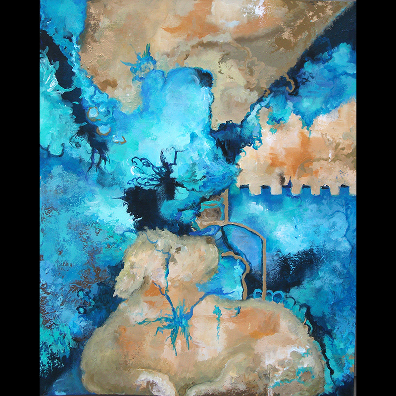 #159 30 x 24 acrylic on canvas