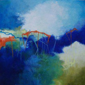 """#163 -  20"""" x 20"""" acrylic on canvas"""