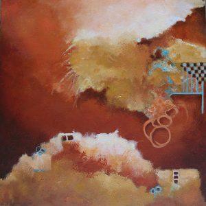 """#166 -  20"""" x 20""""  acrylic on canvas"""
